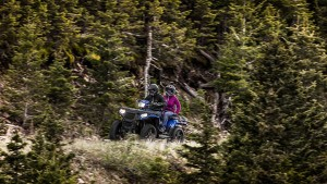 quad polaris sportsman 570 touring niebieski
