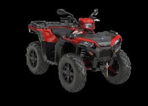 Quad Polaris Sportsman XP 1000 czerwony